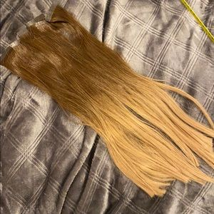 Hot head tape in extensions